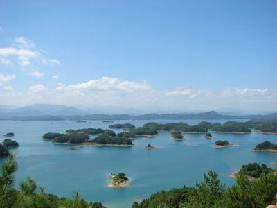 千岛湖(点击更多高清美图)