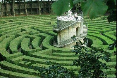 意大利皮萨尔别墅花园迷宫(点击更多高清美图)