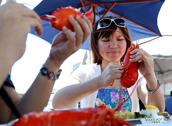 缅因州龙虾饕餮之旅(点击更多高清美图)