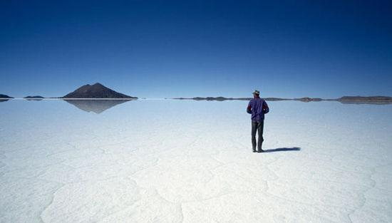 玻利维亚盐沼(点击更多高清美图)