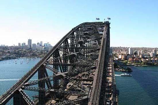 澳大利亚悉尼海港大桥(点击更多高清美图)