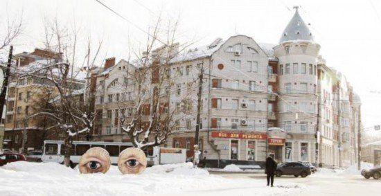 """诺夫哥罗德的""""城市之眼""""(点击更多高清美图)"""