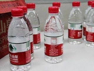农夫山泉承认以自来水标准为底线