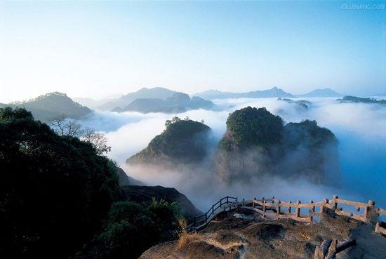 武夷山风景区(点击更多高清美图)