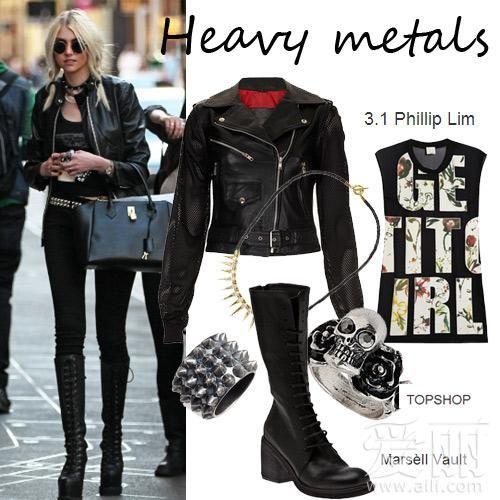 金属服装设计图