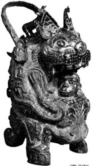 盘点流失海外国宝:圆明园鎏金佛塔(图)