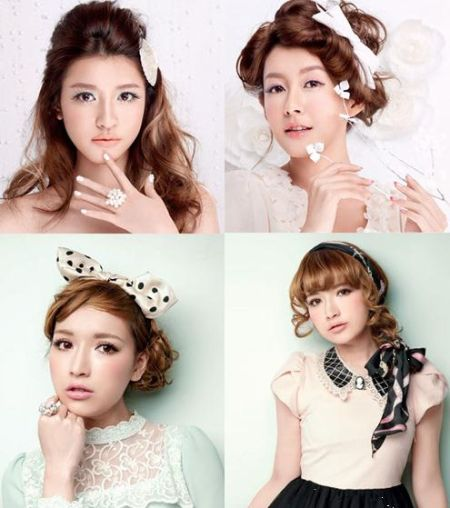 组图:本季最受宠少女系发型营造清新好印象