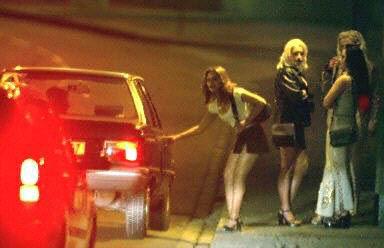 西班牙街头妓女