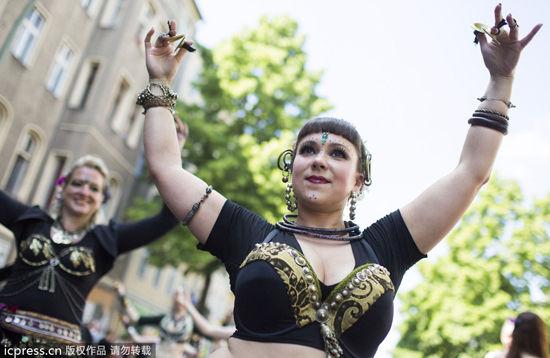 德国柏林文化狂欢节(点击更多高清美图)