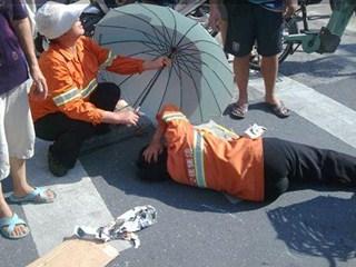 宁波每4天就有一个环卫工人遭遇车祸