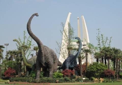 常州中华恐龙园-欢乐六一 全国主题公园玩翻天