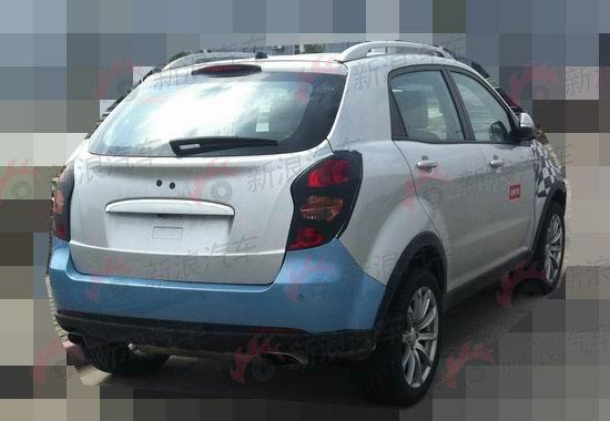 版柯兰多 上汽MG小型SUV车型曝光高清图片