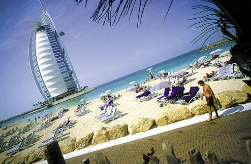 迪拜帆船酒店及度假海滩