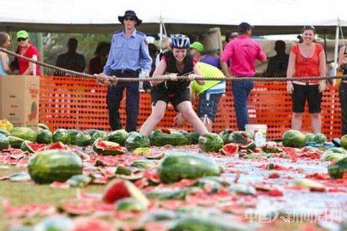 澳大利亚西瓜节