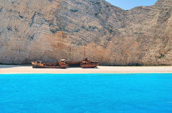 扎金索斯海盗湾(希腊)