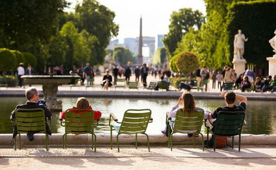 法国巴黎杜乐丽花园