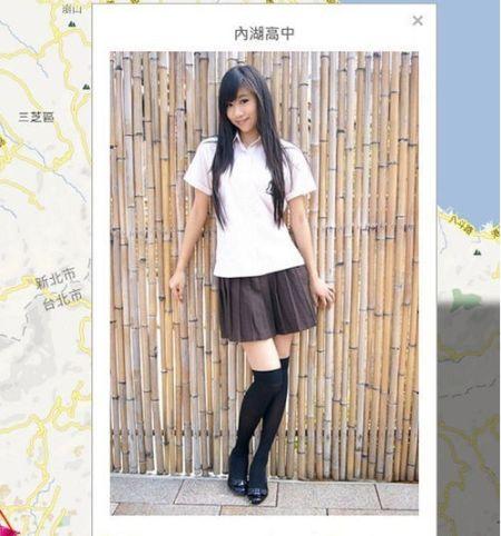台湾女高中生制服地图 zj.sinaimg.cn 宽450x482高