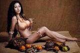 G奶女神苏梓玲全裸写真