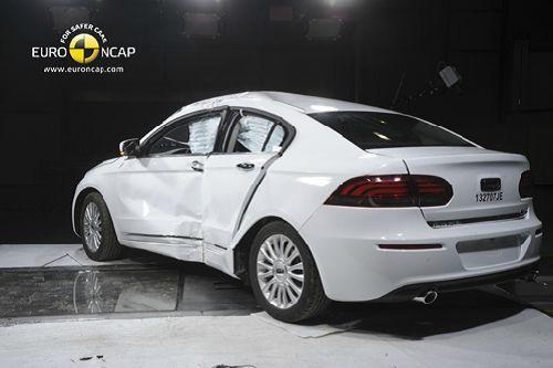 中国汽车Euro NCAP碰撞测试首获五颗星 2高清图片
