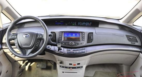 5款新能源车型推荐之比亚迪e6(5)(组图)