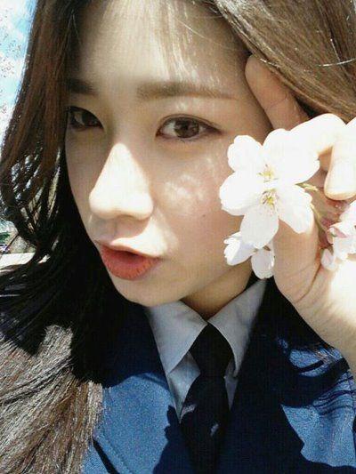 组图:韩国军校女生甜美可爱网友称为见她甘愿当兵