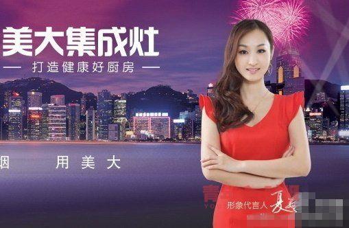 被称为浙江最美女董秘的夏兰曾是公司形象代言人