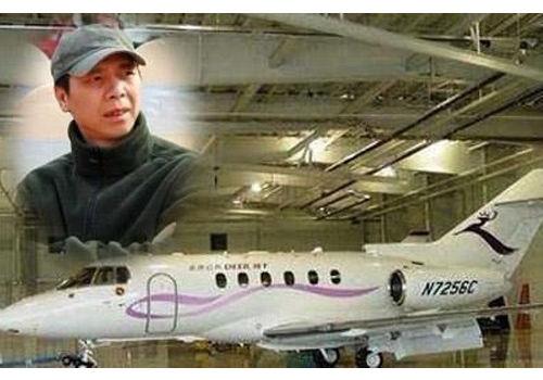 成龙价值2亿私人飞机 窥探明星私人飞机(6)