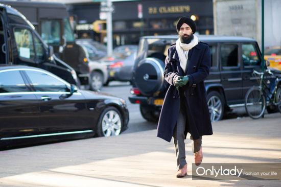 《街拍人物志》已知的最帅的锡克教徒(图)