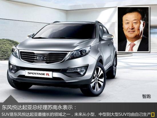 东风悦达起亚完善SUV产品线 将推3款新车
