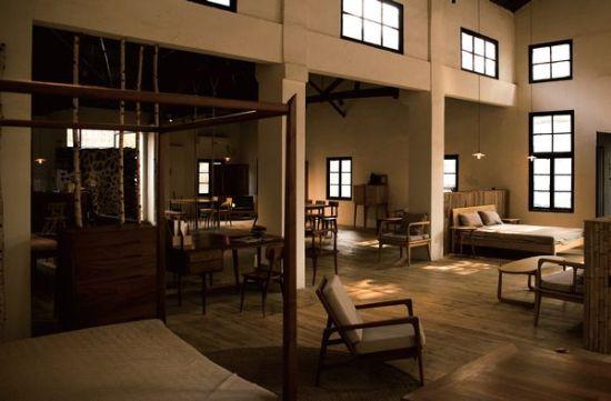 有家潮店:家具设计师品牌梵几客厅(图)