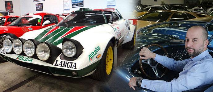 路特斯F1车队老板私人车库 全欧洲最疯狂藏车