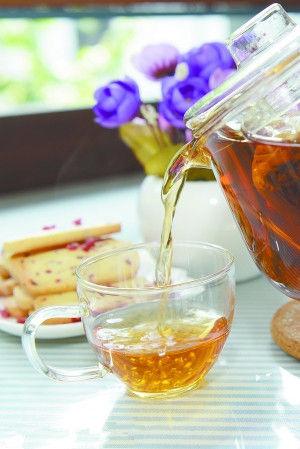 有家潮店:来到茶作物爱上这杯小清新的茶