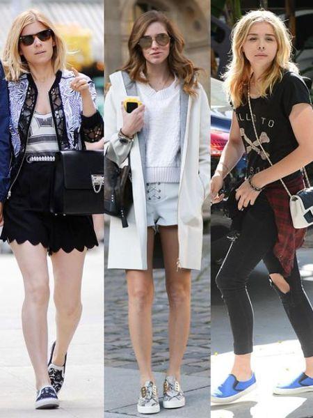 懒人滑板鞋让时髦女星也疯狂