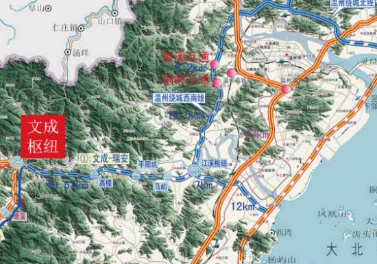 温州高校手绘地图