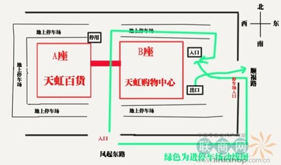 商场电路接线图