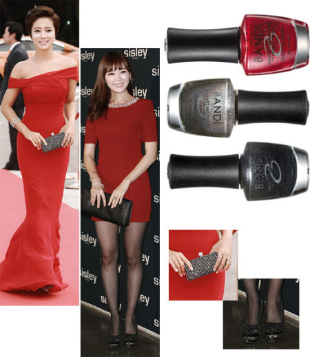 韩女星红毯争奇斗艳比拼优雅