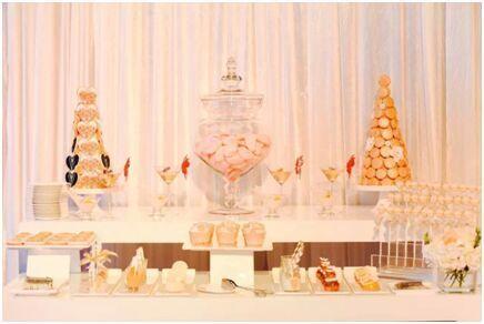 甜品台展示
