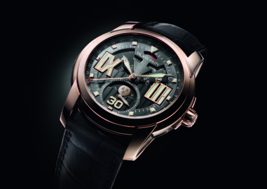 Blancpain宝珀L-evolution系列八天长动力全历月相腕表
