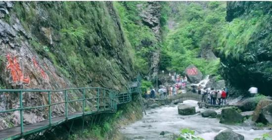 浙西大峡谷:峡谷欢乐颂