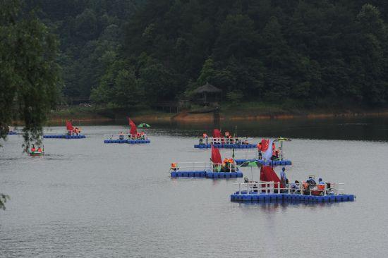 """龙川湾国际垂钓中心是我淳安县首个政策准许的大型垂钓""""特区"""""""