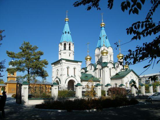 俄罗斯布拉戈维申斯克市教堂