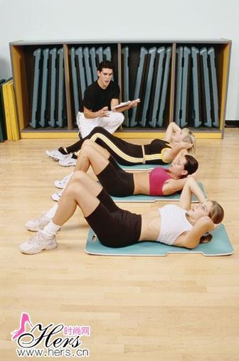 腰腹肌锻炼方法图解