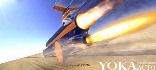 BLOODHOUND SSC超音速火箭车预计将于2011年完成