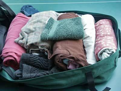 打包行李出发