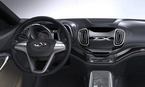 有望明年上市 奇瑞全新SUV车型无伪曝光高清图片