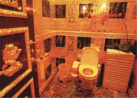 """世界上昂贵的""""金厕所"""""""