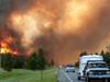 美国山火肆虐